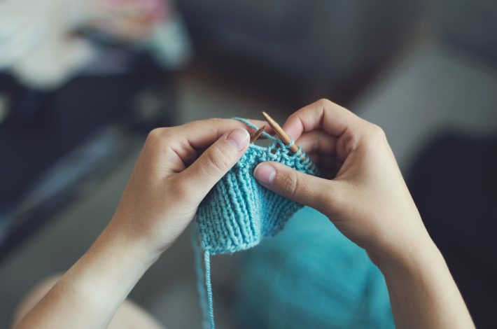 terminer tricot